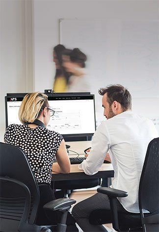 image of staffs working